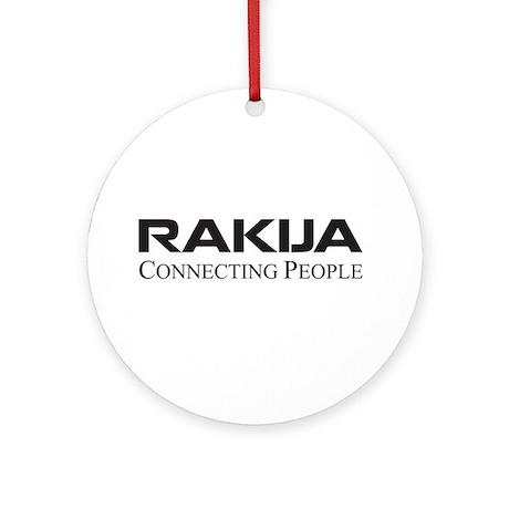 Rakija Ornament (Round)