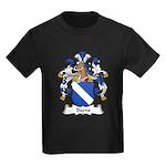 Baens Family Crest Kids Dark T-Shirt