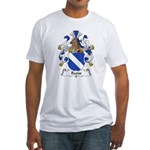 Baens Family Crest Fitted T-Shirt