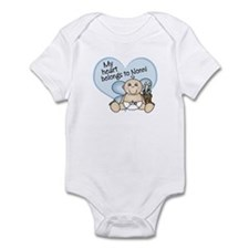 My Heart Belongs to Nonni BOY Infant Bodysuit