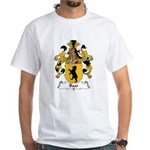 Baar Family Crest White T-Shirt