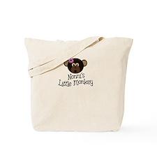 Nonni's Little Monkey GIRL Tote Bag