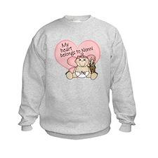 My Heart Belongs to Nonni GIR Sweatshirt