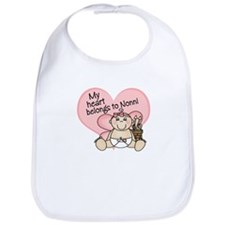 My Heart Belongs to Nonni GIR Bib