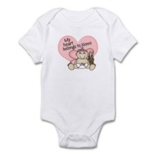 My Heart Belongs to Nonni GIR Infant Bodysuit