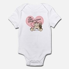 My Heart Belongs to Nonni GIR Infant Bodysuit