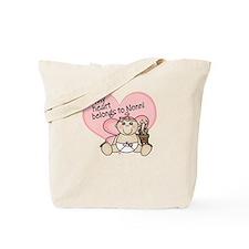 My Heart Belongs to Nonni GIR Tote Bag