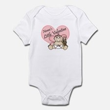 Nonni's Little Valentine GIRL Infant Bodysuit