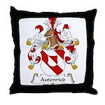 Autenried Family Crest Throw Pillow