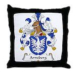 Arnsberg Family Crest Throw Pillow