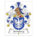 Arnsberg Family Crest Small Poster