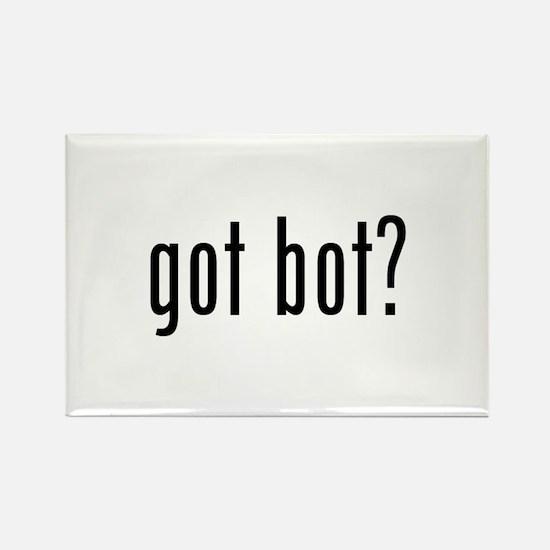 got bot? Rectangle Magnet
