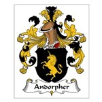 Andorpher Family Crest Small Poster