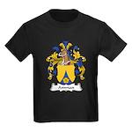 Amman Family Crest Kids Dark T-Shirt