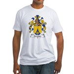 Amman Family Crest Fitted T-Shirt
