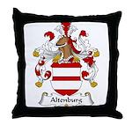 Altenburg Family Crest Throw Pillow
