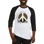 Brick Wall Peace Design Baseball Jersey