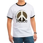 Brick Wall Peace Design Ringer T