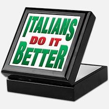 Italians Do It Better Keepsake Box