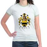 Aichberg Family Crest Jr. Ringer T-Shirt