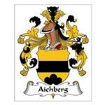 Aichberg Family Crest Small Poster