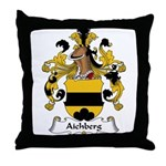 Aichberg Family Crest Throw Pillow