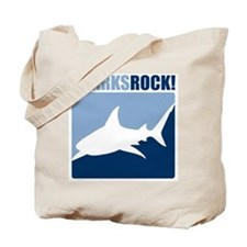 Sharks Rock! Tote Bag