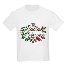 Italian Princess Adorable Kids T-Shirt