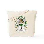 Adam Family Crest Tote Bag