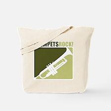 Trumpets Rock! Tote Bag
