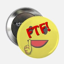 """FTF! First to Find! 2.25"""" Button (100 pack)"""