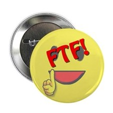 "FTF! First to Find! 2.25"" Button (10 pack)"