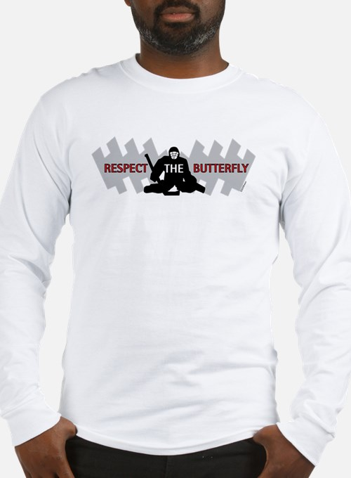 respect butterfly original Long Sleeve T-Shirt