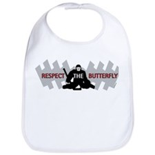 respect butterfly original Bib
