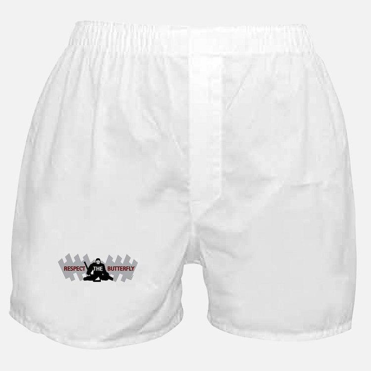 respect butterfly original Boxer Shorts