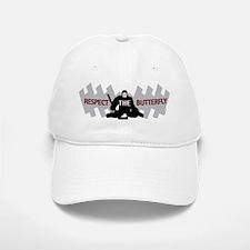 respect butterfly original Baseball Baseball Cap