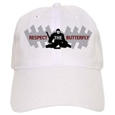 respect butterfly original Baseball Cap