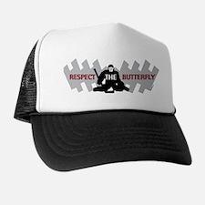 respect butterfly original Trucker Hat