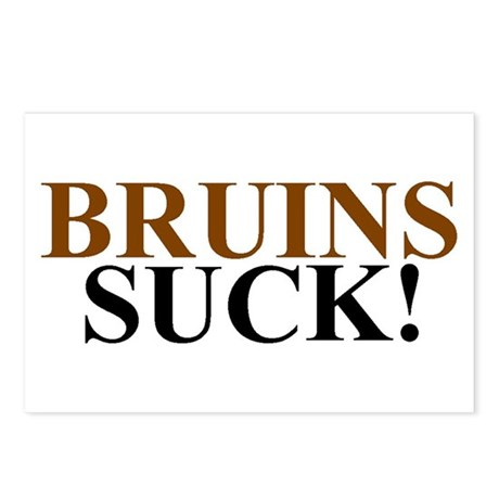 Bruins Suck! Postcards (Package of 8)