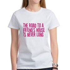 The Road To a Friend's House Tee