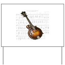 Mandolin and Sweet Music Yard Sign