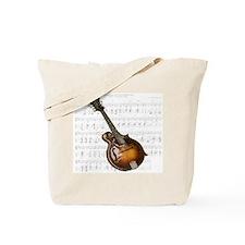 Mandolin and Sweet Music Tote Bag