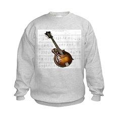 Mandolin and Sweet Music Sweatshirt