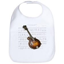 Mandolin and Sweet Music Bib