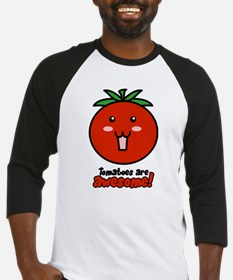 Tomatoes are Awesome Baseball Jersey