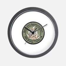 DEA HEAT Orange County Wall Clock