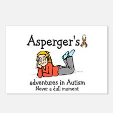 Aspergers adventures in AUTIS Postcards (Package o