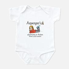Aspergers adventures in AUTIS Infant Bodysuit