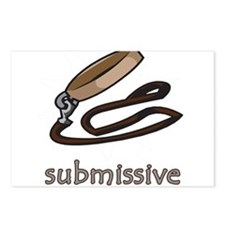 Dog Collar Submissive Postcards (Package of 8)