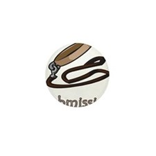 Dog Collar Submissive Mini Button (10 pack)